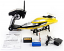 2.4G Radio Control RC Speed Racing Boat - Yellow - 01