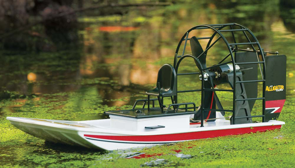 RC Swamp Boat by Aquacraft - Alligator Airboat :: Radio Controlled ...