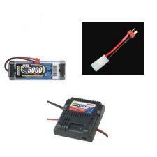 AquaCraft Rio EP Offshore Superboat RTR Battery Package