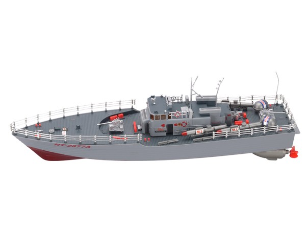 "Highly Detailed Model Radio Control NT-2877 Torpedo Boat 19.5"" (B77)"