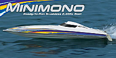 Aquacraft Brushless Minimono - Electric Remote Control Boat