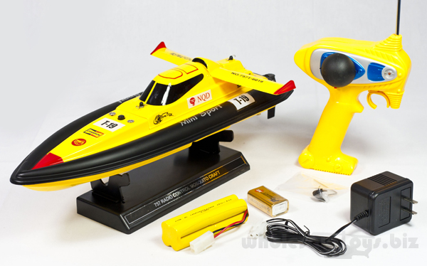 Mini Tracer - Remote Controlled Boats for Beginners
